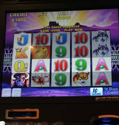 Slot machine winning odds winning big gambling