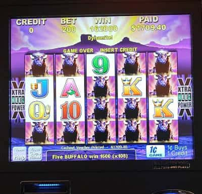 bigger slot wins